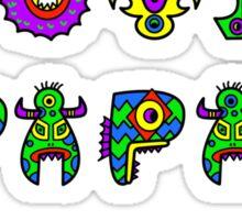 I Love Papa Sticker