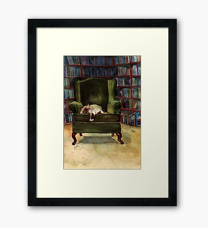 Monkey the Cat Framed Print