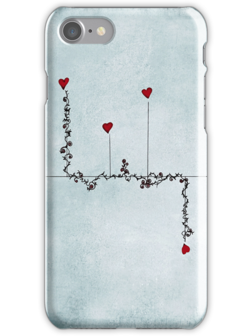 love grows - iphone case by Ingrid Beddoes