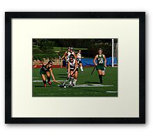 100511 182 0 field hockey Framed Print