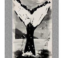 Zen Whale by Deborah Vicino