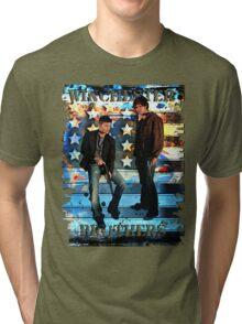 Sam & Dean Winchester - on the Road Tri-blend T-Shirt