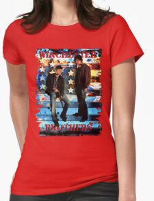 Sam & Dean Winchester - on the Road Womens Fitted T-Shirt
