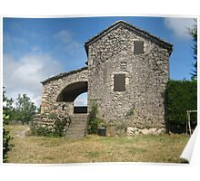 Old house in the Aveyron Poster