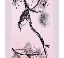 Zen Birdie by Deborah Vicino
