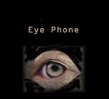 iPhone Case - Eye Phone by Ginny York