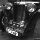MG Classic sports car by David  Barker