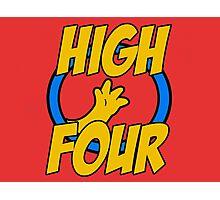 High Four Photographic Print