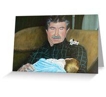 Grandpa and Grandson Greeting Card