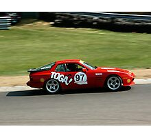 Porsche 944 Race Car at Lime Rock Photographic Print