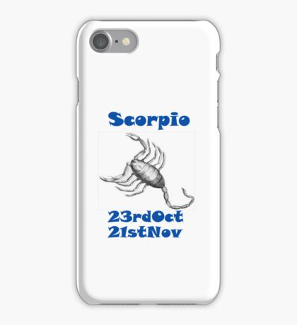 Scorpio iPhone Case/Skin