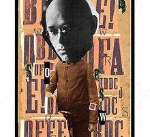 Dada Tarot- Ace of Swords by Peter Simpson