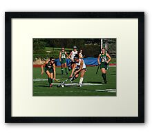 100511 183 0 field hockey Framed Print