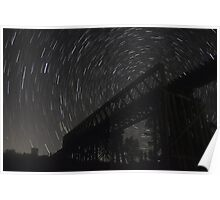Star Trails Poster