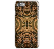 Orange/Black Abstract for iPhone iPhone Case/Skin