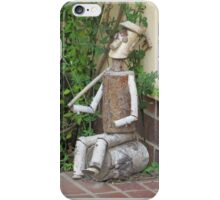 The gardener´s lunchbreak iPhone Case/Skin