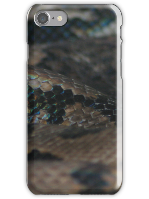 Snake (iphone case) by Louise Green