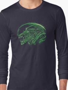 Space Nigthmare Long Sleeve T-Shirt