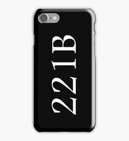 221B - Sherlock Holmes iPhone Case/Skin