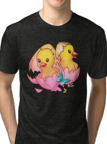 Easter Eggs2 Tri-blend T-Shirt