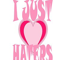 i love a hater IPHONE CASE by Dee-Karma-Arts