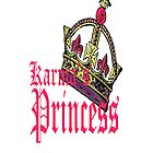 karmas princess IPHONE CASE by Dee-Karma-Arts
