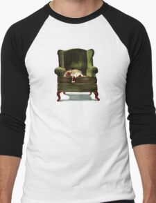 Monkey the Cat Men's Baseball ¾ T-Shirt