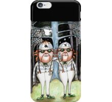 The Tweedles collaboration iPhone Case/Skin