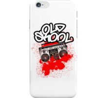 Old Skool... iPhone Case/Skin