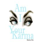 am i ur karma IPHONE CASE by Dee-Karma-Arts