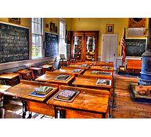 Old Schoolhouse Photographic Print