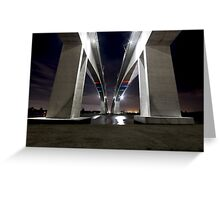 Brisbane's Gateway Bridge (Part 2) Greeting Card