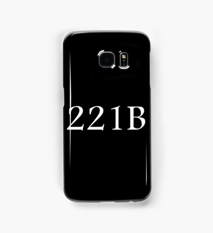 221B - Sherlock Holmes Samsung Galaxy Case/Skin