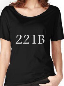 221B - Sherlock Holmes Women's Relaxed Fit T-Shirt