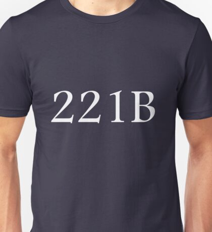 221B - Sherlock Holmes Unisex T-Shirt