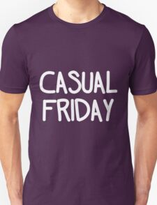Casual Friday (White) T-Shirt