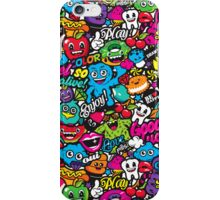 PARTY CHARACTERS iPhone Case/Skin