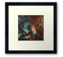 Scetching the city pt. 7 Framed Print