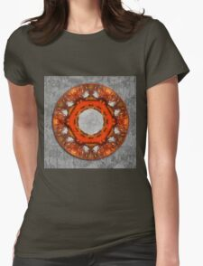 Kaleidoscope of butterfly wings Womens Fitted T-Shirt