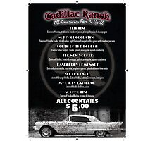 Cadilac Ranch Photographic Print