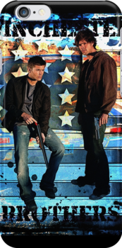 Sam & Dean Winchester - on the Road by Amberdreams