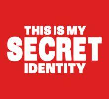 Secret Identity Kids Clothes