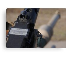 M2 Browning .50 Cal Canvas Print