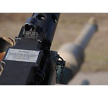 M2 Browning .50 Cal Photographic Print
