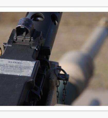 M2 Browning .50 Cal Sticker
