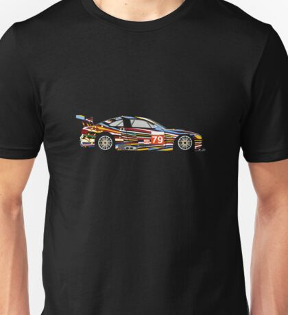 BMW M3 GT2 Art Car Unisex T-Shirt