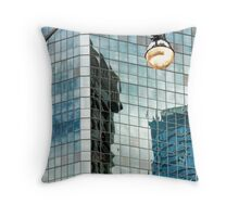 Queen and Bay Throw Pillow