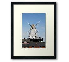 Smock windmill, Rye Framed Print