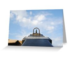 M2 Browning .50 Cal II Greeting Card
