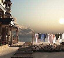 Laundry Day by Cynthia Decker